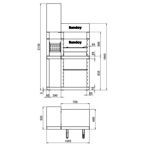 Электрокамин Cassette 600 NH (Dimplex)