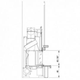 Облицовка Bix Box 62 inox, PellSCF - LP62 (EdilKamin)