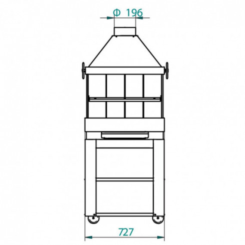 Печь-плита Avant-Garde 120 (J. Corradi)