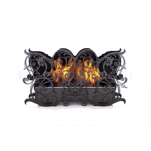 Печь-плита L-07 С.Н, чугун, латунь, черная (Hergom)