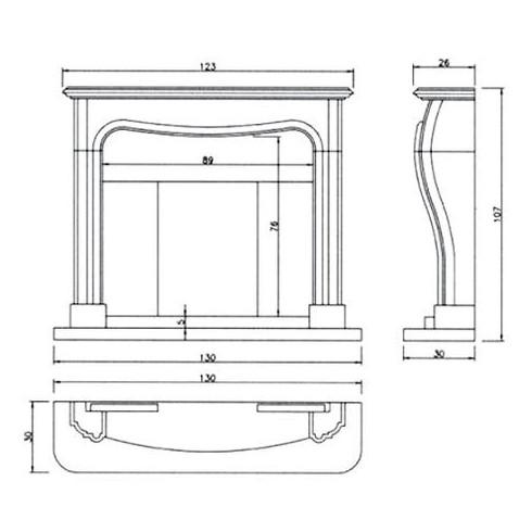Труба H500 D120 (Ala)