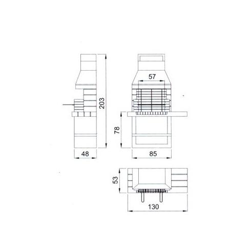 Дверца зольника Future 0530 (Aito)