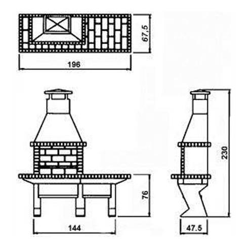 Дровница VKN111-R9005, черный (Вулкан)