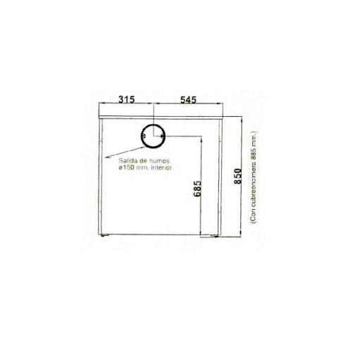 Колосниковая решетка 1415/3B (Aito)
