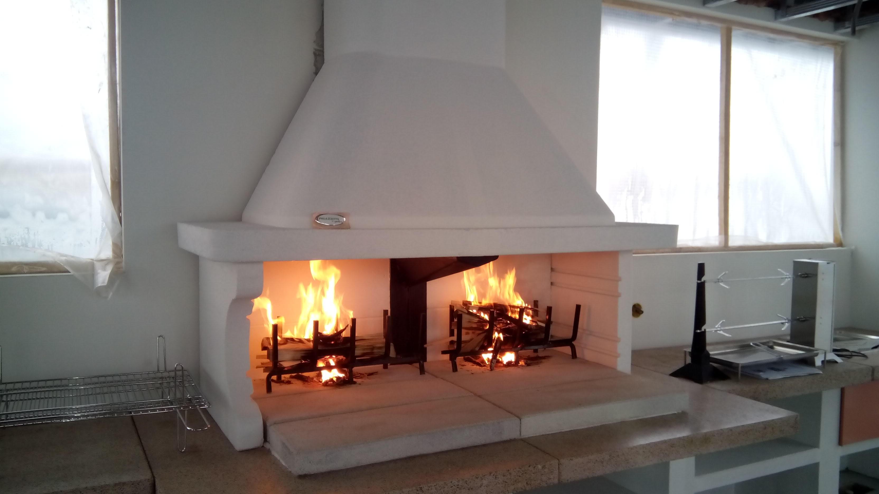Работа по установке каминов пламегаситель дымоход купить